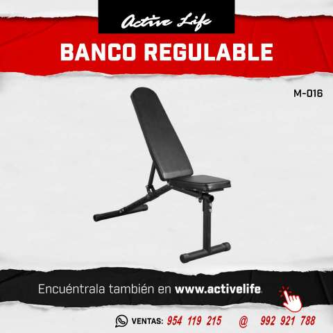 BANCO HOME REGULABE M 016