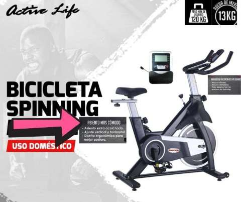 BICICLETA ACTIVELIFE HOME GALAXI 13