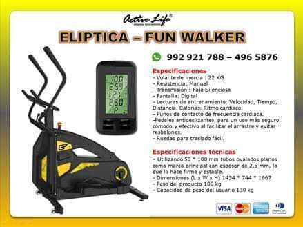 Eliptica Fun Walker