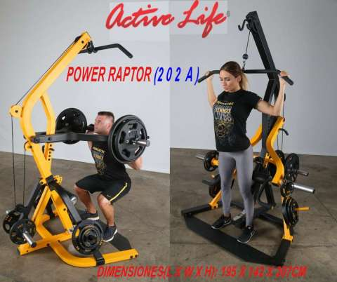 POWER RAPTOR 202 A