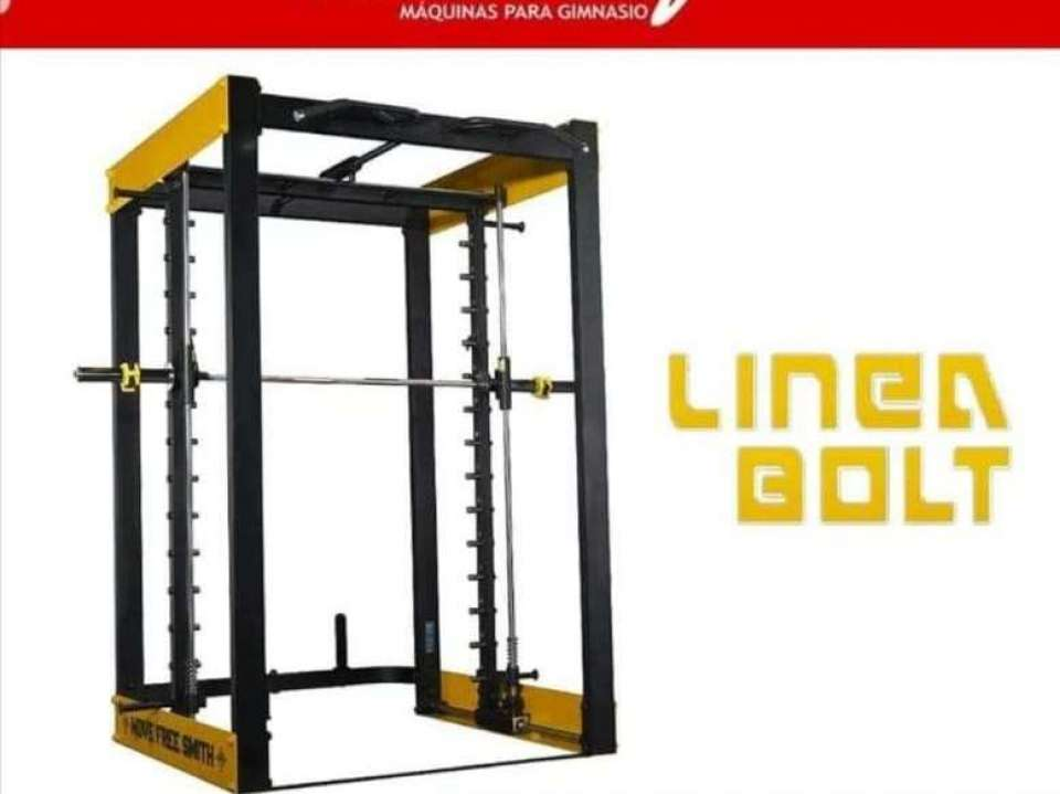 MAQUINA SMITH MACHINE GUIADA - DUAL