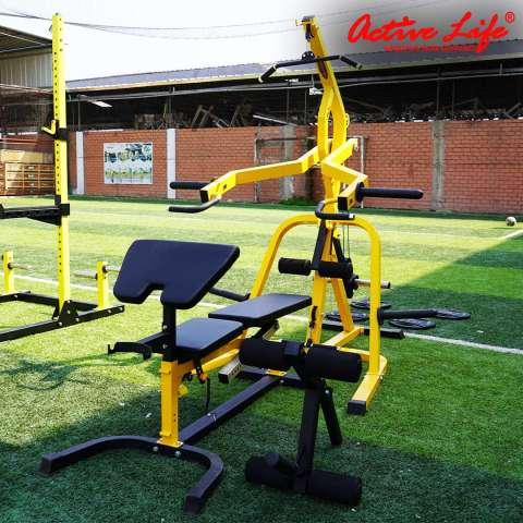 STRENGTH RAPTOR GYM + BANCO EXTENSIONES + BICEPS COD 303A